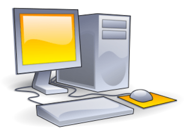 Personal Computer Illustration